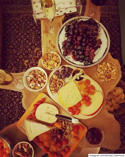 wildnight with bestfriends... cheeseandwine lebanon cheese ... (El Louaïzé, Mont-Liban, Lebanon)