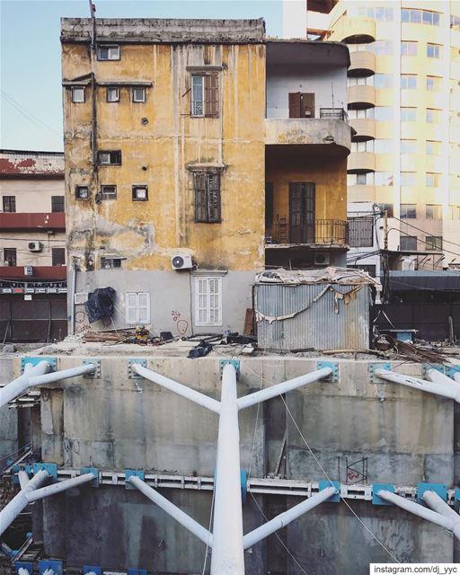 Propped... (Beirut, Lebanon)