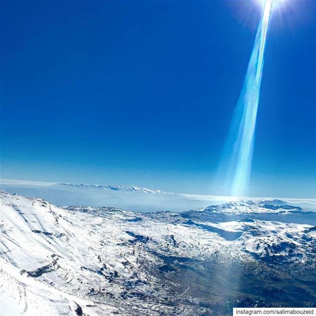 Happy white weekend igers 💙---------------------------------------------- (Mzaar Ski Resort Kfardebian)