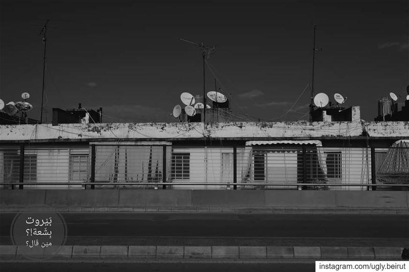🇱🇧 Life over the birdge in black and white... uglybeirut بيروت_مش_بش (Burj Hammud)
