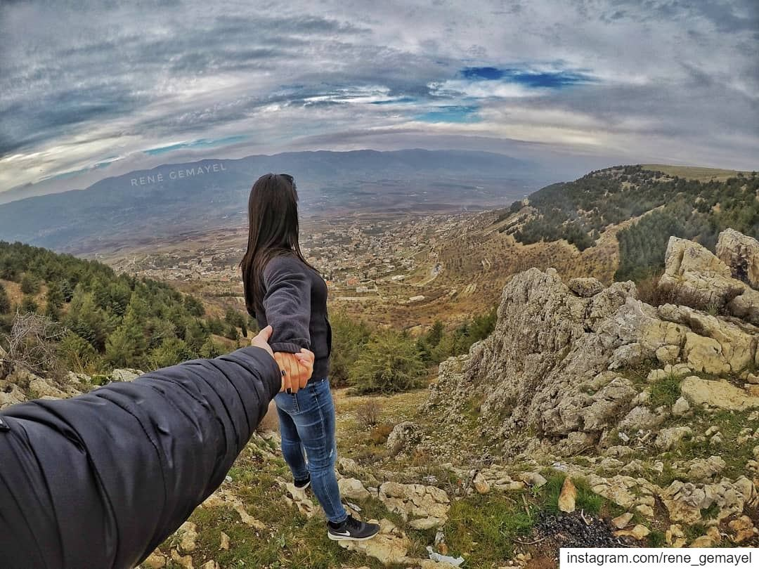 The best place to find a helping hand is at the end of your own arm...... (West Bekaa)