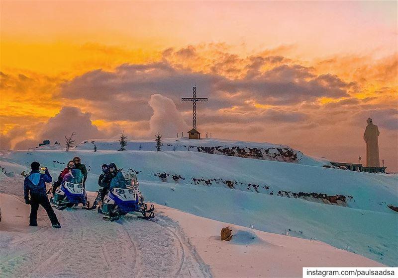 faraya lebanon saintcharbelfaraya skimobile snow ... (Saint Charbel-Faraya)