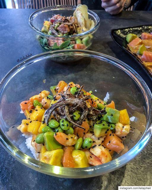 بوكي بوول سآكلها الان سآكلها الان... poke pokebowl pokebowls ... (Food District)