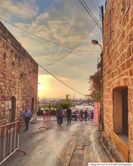 No one saves us but ourselves. No one can and no one may. We ourselves... (Byblos - Jbeil)
