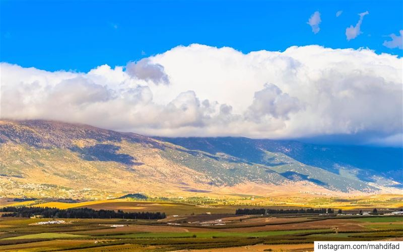 Bekaa valley Lebanon clouds nature landscape pysglb mountains... (West Bekaa)