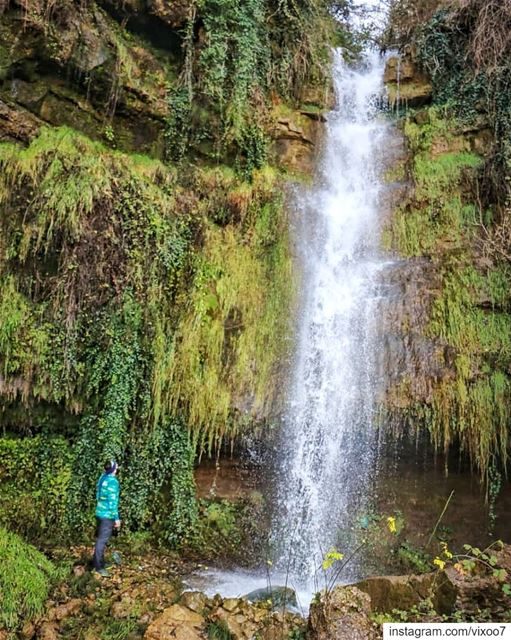 Hidden gems🍃... waterfalls waterfallhike chasingwaterfalls ... (Akkar)