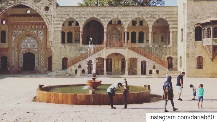 | The one-of-a-kind Beiteddine Palace | Built over 300 years beginning in... (Beiteddine Palace)