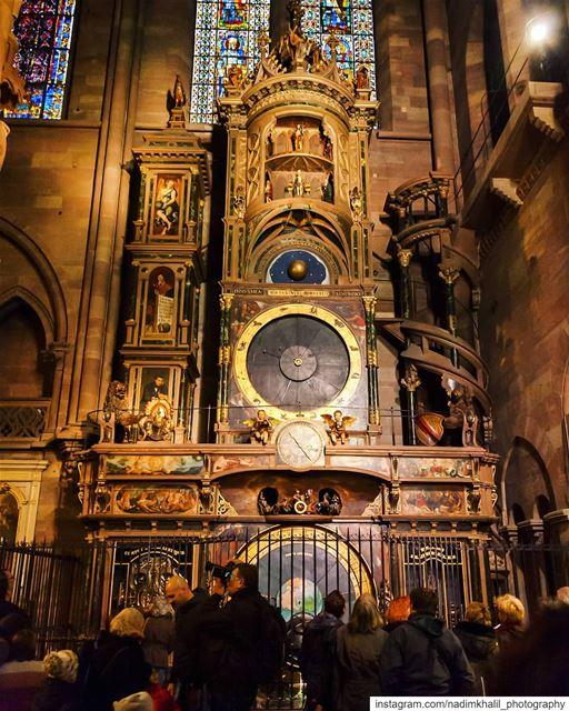 Cathédrale Notre-Dame de StrasbourgDie astronomische Uhr im Strassburger... (Strasbourg, France)