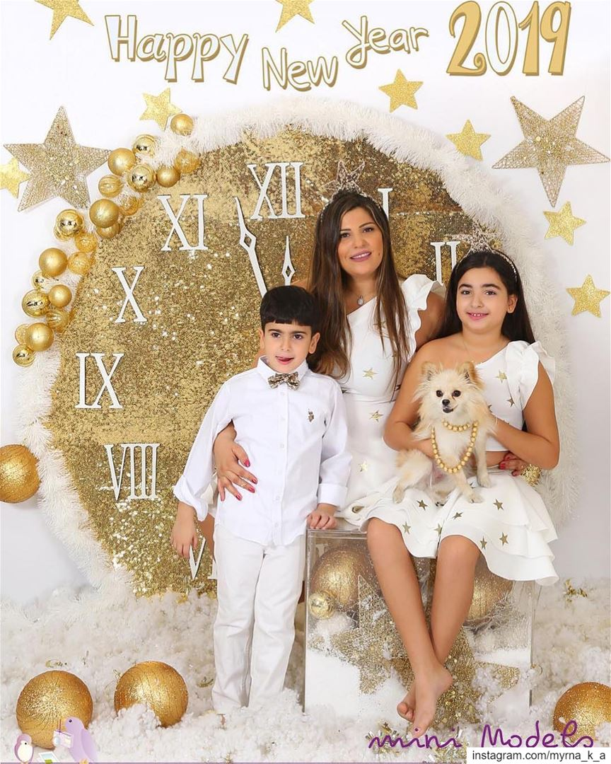 Have a Blessed Year Everyone 🥳🎊 happynewyear mydaughter myson ... (Beirut, Lebanon)