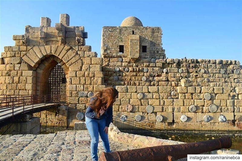 Lebanon first 😉..... heritage saida lebanon lebaneseview ... (Saïda, Al Janub, Lebanon)