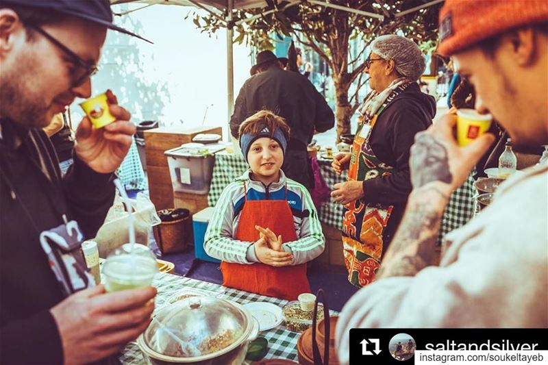 Repost @saltandsilver ・・・This young streetfood-pro on the @soukeltayeb...