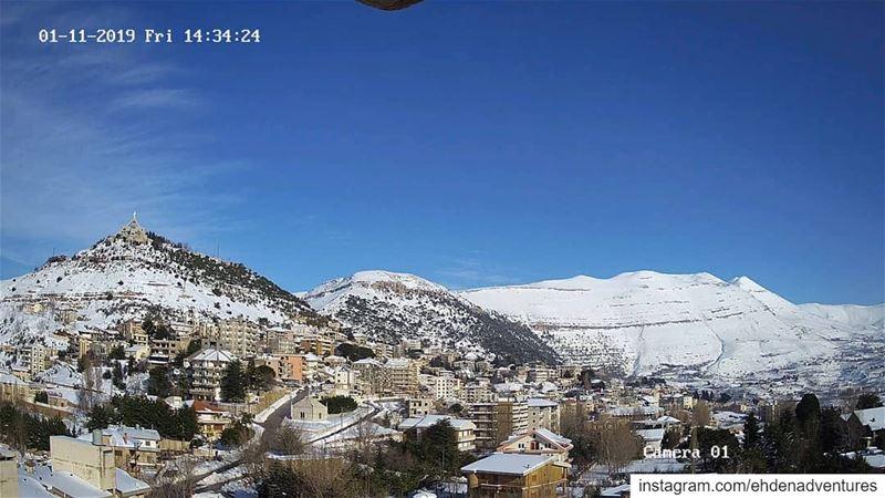 ehden lebanon snow ...