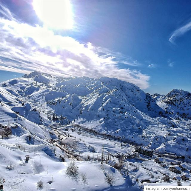 Mont Blanc, The Lebanese Version ⠀⠀⠀ lebanon snow livelovelebanon ... (El Laklouk, Mont-Liban, Lebanon)