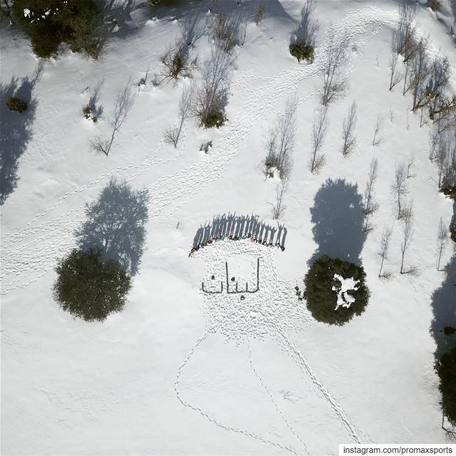 Live.🌲🌲🌲🌲🌲🌲🌲🌲🌲🌲🌲🌲🌲🌲. promaxsports snowshoeing ... (Hadath El-Jubbah, Liban-Nord, Lebanon)