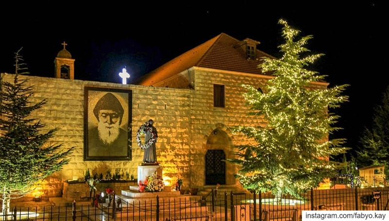 =============================== saint_charbel church sunday night... (Saint Charbel طبيب السما)