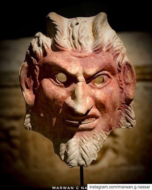 Mask of SatyrDiscovered at Bourj El Chemali, Tyre, South Lebanon.Roman... (National Museum of Beirut)