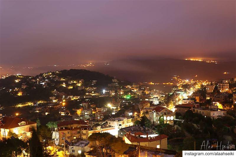 Baissour.. ❤️... Hseiki Lebanon beirut nature night ... (Baïssoûr, Mont-Liban, Lebanon)