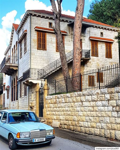"""Bet Shebāba"" (Syriac) means ""house of the neighbor"" 🏠 (Beït Chabâb, Mont-Liban, Lebanon)"