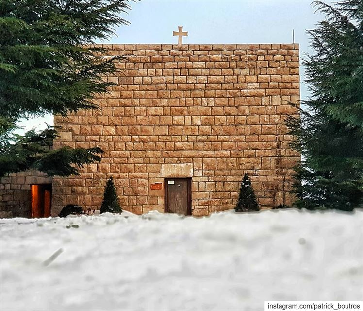 ❤❤ ... StCharbel church jesus prayer love cross nature ...