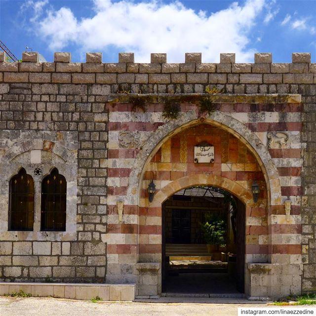Saraï Atallah of Ain Dara... A gate to history...... aindara ... (Ain Dara)