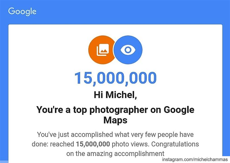 Top Photographer on Google Maps! I surpassed 15 million views. Lebanon ... (Chekka)
