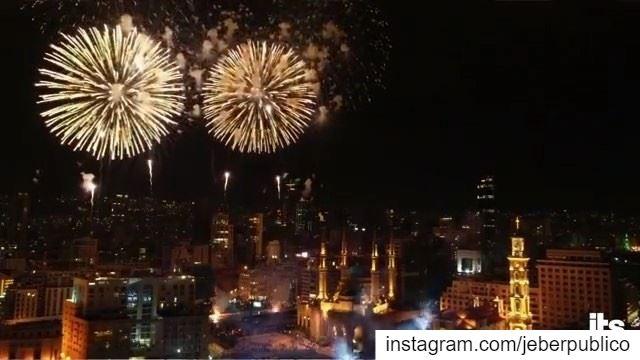 Vídeo 2/2 || 🇱🇧 Un reloj gigante fue el que llevó la cuenta que anunciarí (Beirut, Lebanon)