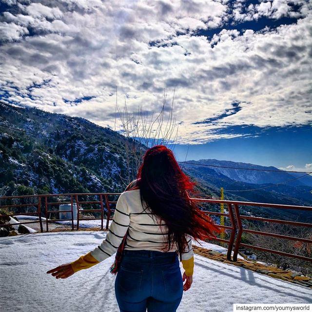 Freedom ❄️ (El Laklouk, Mont-Liban, Lebanon)