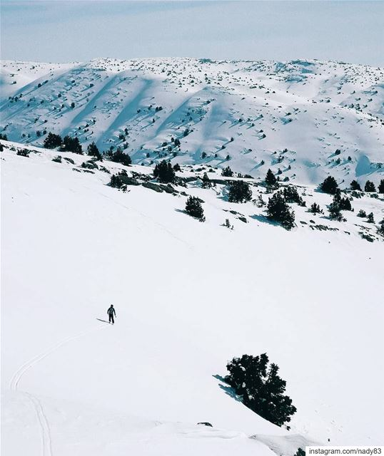 No man's land.. backcountryskiing skitouring lebanon snow ski ...