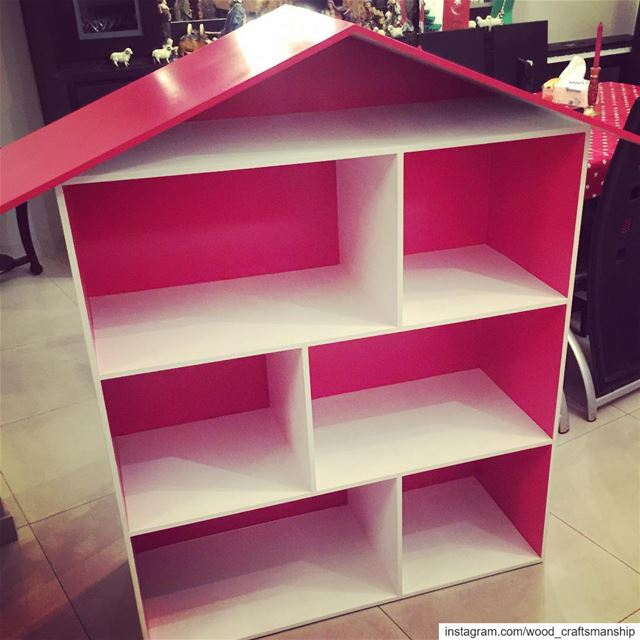 Barbie doll play house, 140*100*40 cm woodworking wood woodcraft ...