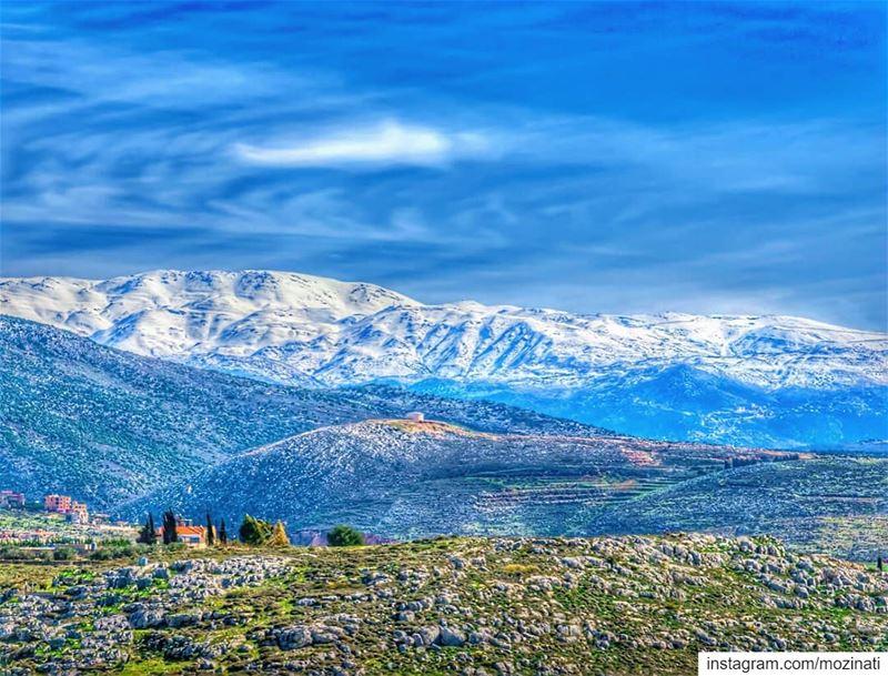 يا جبل الشيخ يا قصر الندي.. ================================ landscaping ... (Deïr Ez Zahrâni, Al Janub, Lebanon)