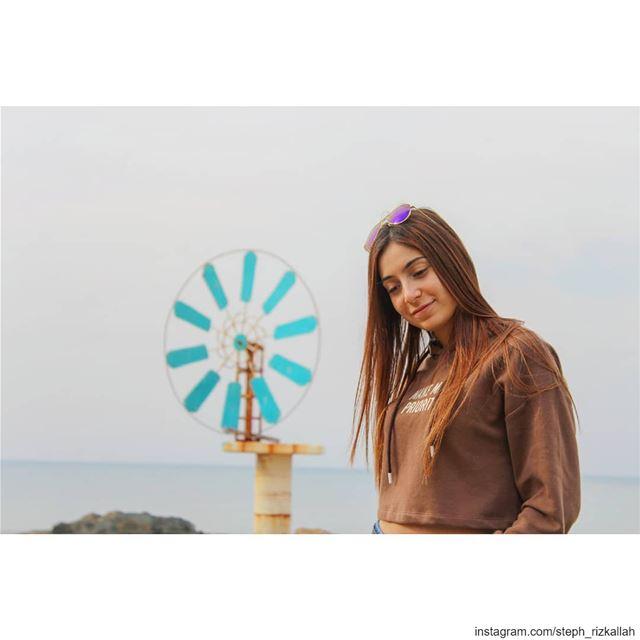 Windmills of your mind! livelovelebanon liveloveanfeh lebanonadventure ... (Lebanon Batroun)