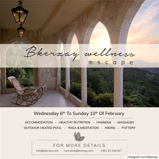 A wellness escape designed to get you away from your daily stresses and... (Bkerzay)