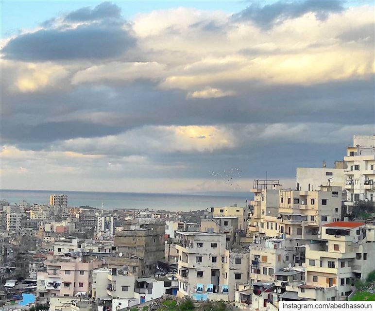 طرابلس 💙.......... Tripoli Lebanon balconyview شتاء ... (Lebanon-Tripoli)