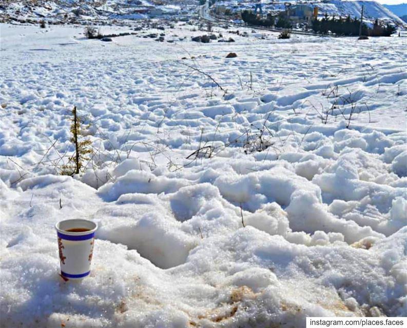 يطل علينا الزّائِر الأبيض كما في كل عام من هذا المَوسِم فيجعلنا هذا المنظر... (Jezzîne, Al Janub, Lebanon)