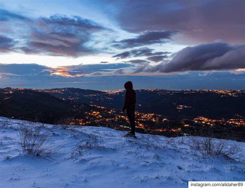 Hello weekend ❄️✨..... landscape landscapephotography photographer... (Lebanon)