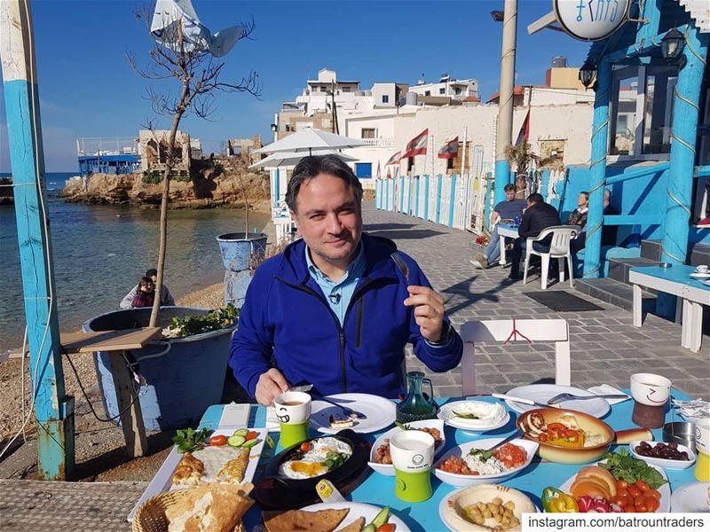 batroun البترون_سفرة breakfast @raysbatroun @nogarlicnoonions ... (Bahsa-Batroun)