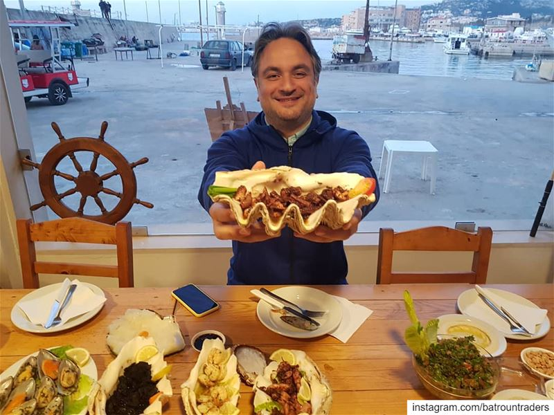 batroun البترون_سفرة @oysterseafood @nogarlicnoonions restaurant ... (Oyster's Seafood & bar Batroun)