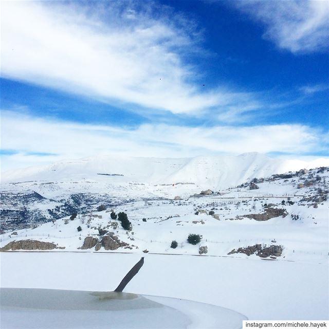 🗻💙💙 landscapephotography sannine instalebanon insta_lebanon ... (Mount Sannine)
