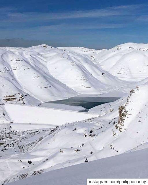 Faraya,lebanon.... lebanon faraya snow weather photooftheday dubai... (Faraya, Mont-Liban, Lebanon)