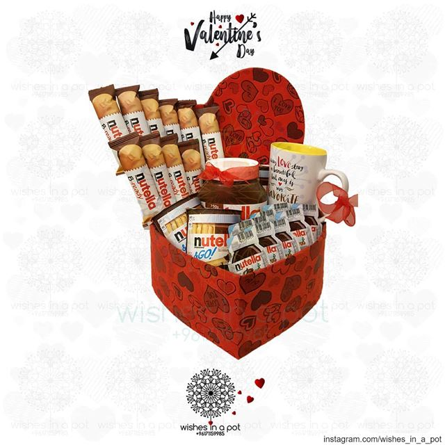Call out for all  nutella  holicsGet them this heart box on ...