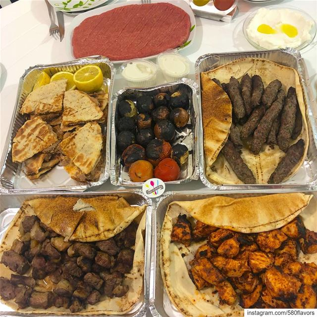 A little bit of everything 😍 This is our Sunday Lunch 😍😍 ehden ...... (Ehden, Lebanon)
