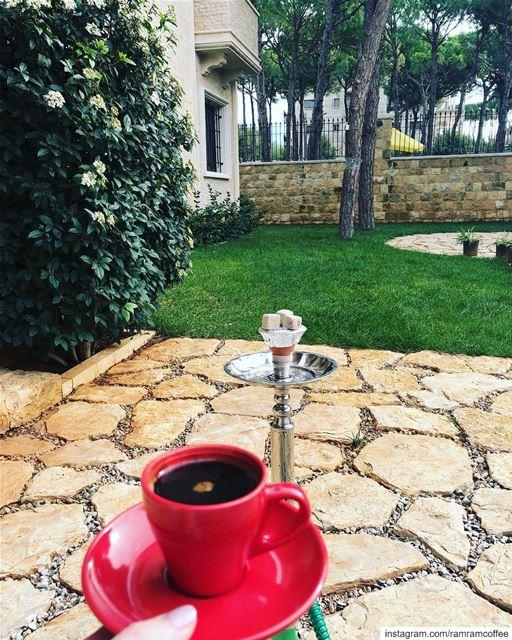 الود ودي تكون انت من تشاركني قهوتي... ☕️☀️.. ramramcoffee ... (Aïn Anoub, Mont-Liban, Lebanon)