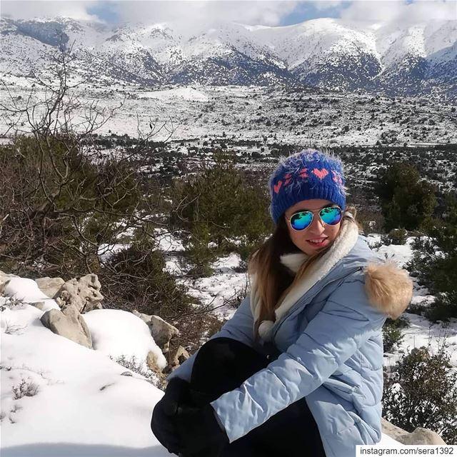 À un moment tu sens plus froid que la neige ...Mais tant que tu auras un... (Lebanon)