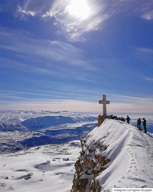 Akoura ✝️ (Akoura, Mont-Liban, Lebanon)
