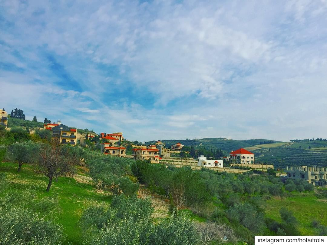 Nature at its best 🏡 🦋🌿💐 livelovesouth ... (South of Lebanon)