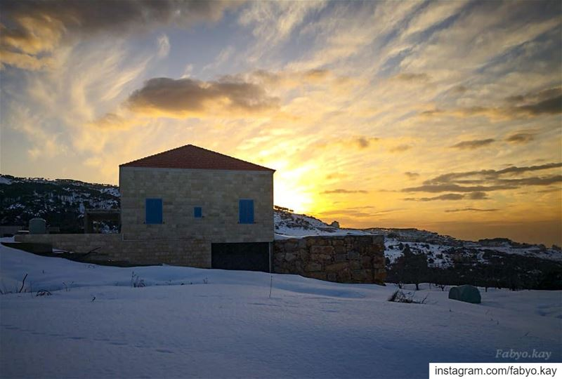 Sunset looks spectacular in the nature. ===============================... (Mount Lebanon Governorate)