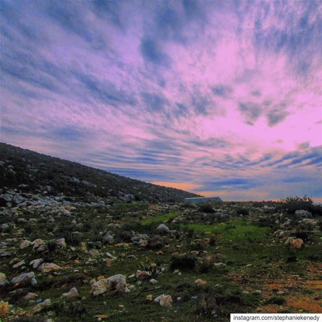 Collect beautiful sky 💜 lebanon_hdr  lebanese  lebanoninapicture ...