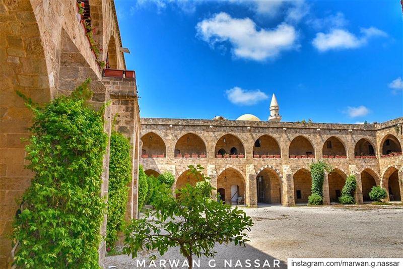 """On a short walk from Saida Sea Castle you'll find Khan el Franj / """"Caravans (Sidon, Lebanon)"""