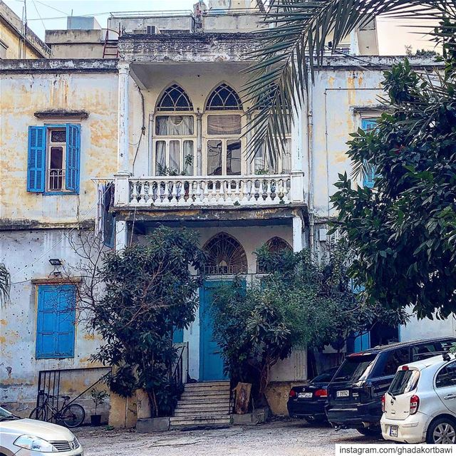 But what do i know? theremainingfew ::::::::::::: blueshutters oldhouse... (Achrafieh, Lebanon)