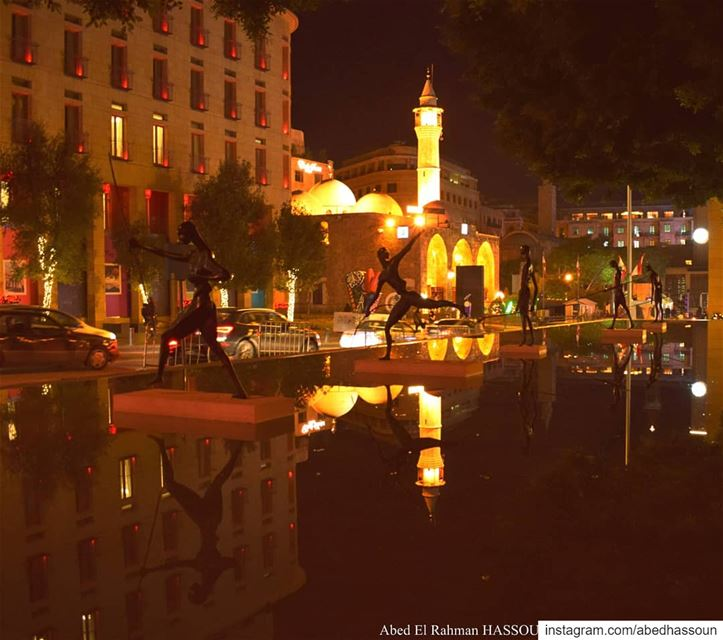 Beirut ........... instabeirut night light instalebanon ... (Beirut, Lebanon)